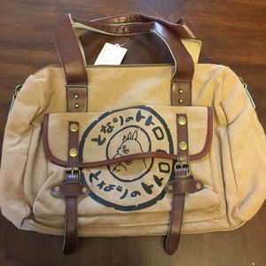 Handbags - My Neighbor Totoro Canvas Messenger Bag Anime